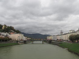 Photo of Munich Salzburg Small Group Day Tour from Munich Photo of Satzburg from the bridge