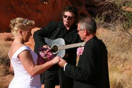 Photo of Las Vegas Valley of Fire Wedding by Private Limousine Ring of Fire