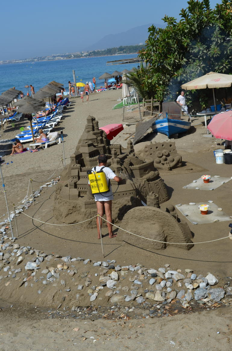 Sand Sculpture - Costa del Sol