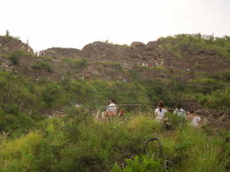 Photo of people going up the switchbacks at Diamond Head , Linda W - March 2014