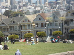 Photo of San Francisco Alcatraz and San Francisco City Tour The Painted Ladies, Alamo Square