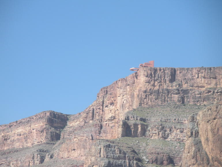 The Sheer Cliffs of the Grand Canyon - Las Vegas