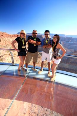 Photo of Las Vegas Ultimate 3-in-1 Grand Canyon Tour The view was surreal. We had great weather, fantastic mood, THRILLING !