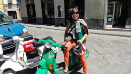 Photo of Florence Florence Vespa Tour: Tuscan Hills and Italian Cuisine Time for lunch