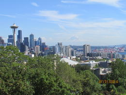 Photo of Seattle Seattle in One Day: Sightseeing Tour including Space Needle and Pike Place Market View from Qeen Ann area