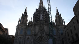 Photo of Barcelona Barcelona Sightseeing Tour: Gothic Quarter Walking Tour, Olympic Village and Montjuic Cable Car Ride Barcelona Morning Sightseeing Tour