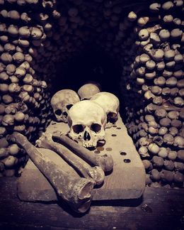 Ossuary on Kutna Hora trip , Amy W - May 2016