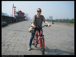 Biking on the City Wall - May 2012