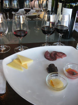 The wines and food pairings., Bandit - June 2012