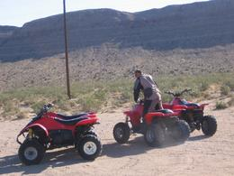 Photo of Las Vegas Hidden Valley and Primm ATV Tour Dan Giving ATV's A Test Run!