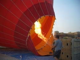 Photo of Las Vegas Las Vegas Sunrise Hot Air Balloon Ride Fire!