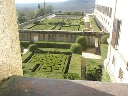 View to one of the gardens of El Escorial., Petr N - March 2008