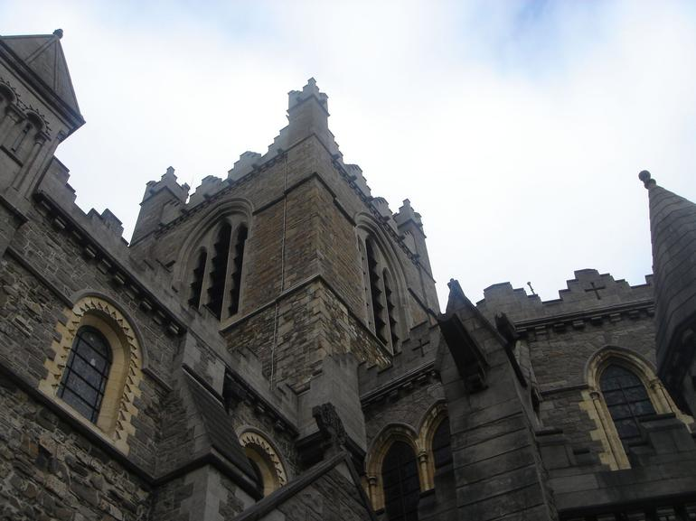 Christ Church Cathedral on our walking tour: impressive