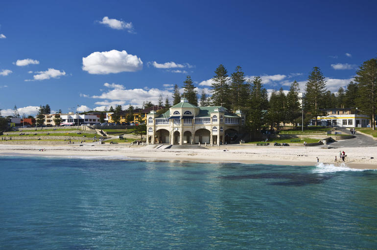 Indiana Tea House at Cottesloe Beach - Perth