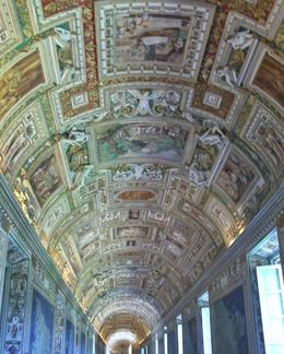 Photo of Rome Skip the Line: Vatican Museums Walking Tour including Sistine Chapel, Raphael's Rooms and St Peter's Just one of many beautiful ceilings