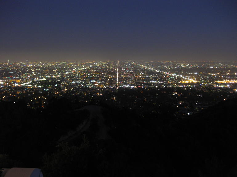 LA at night - Los Angeles