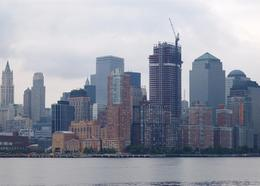 Lower Manhattan as seen from the Circle Line Tour Boat., Caleb S - June 2008