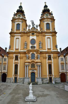 Photo of Vienna Danube Valley Day Trip from Vienna Melk Abbey Church Front