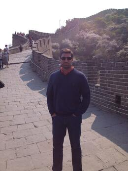 Photo of Beijing Private Tour: Great Wall of China Walking Tour and Helicopter Flight My Husband Daniel