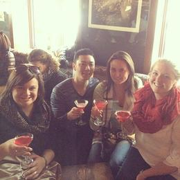 Drinks with the girls , Benjamin L - March 2014