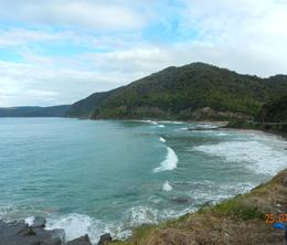 We stopped here, for photos, and shortly after is when we saw whales. , Karin K - August 2014