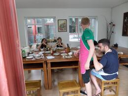 Other guests getting ready for class , Paul S - June 2014