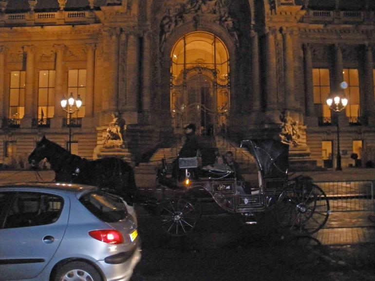 Outside the Petit Palace - Paris