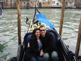 Our Romantic Gondola ride with serenade, JOSE F - March 2009
