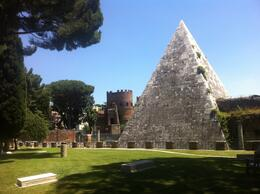 Protestant Cemetery and Pyramid, Dominique - June 2012
