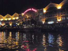 Photo of Singapore Singapore's Chinatown Trishaw Night Tour Singapore 2012 Night Riverboat Ride