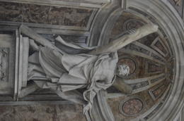 Coming from Scotland I was humbled to find St Andrew at the centre of St Peter's Basilica. The history of the Saltire Cross and his martyrdom, made all the more historical during the lead up to ... , Christopher C - August 2014