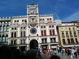 We are watching the clock at St. Marco change to XII- 00. , Jenny S - September 2015