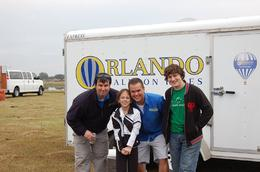 Damien (pilot), Jason (Chase Crew), Tristan (son) and Shanyn (daughter).... We ONLY fly with this crew, every St. Patrick's Day, when we go on vacation, every year..., Michael B - March 2010