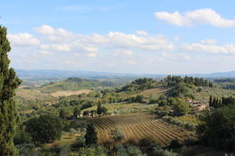 What a beautiful view of Tuscany! , Ilsemarie Z - October 2014