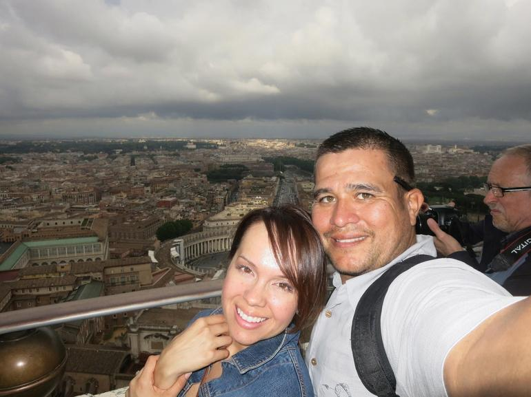 View of Rome from the dome of the Basilica - Rome