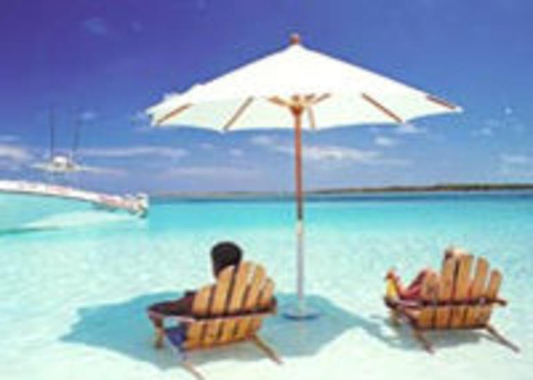 Bahamian Beach Lounging - Nassau