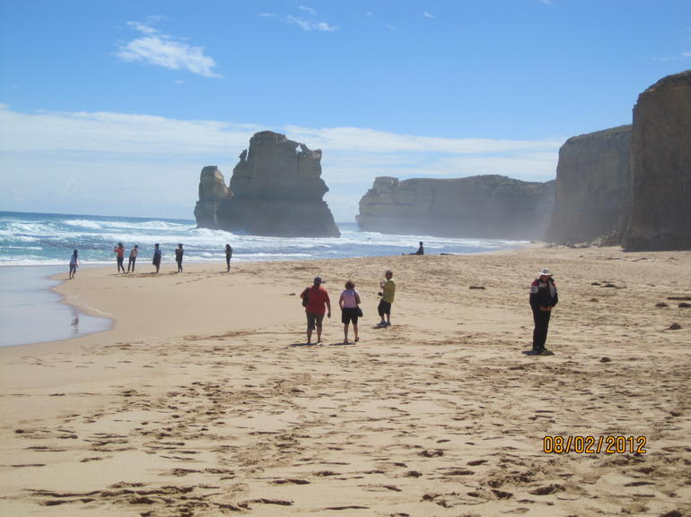 Beach in Great Ocean Road - Melbourne