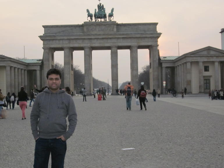 Brandenburg gate01 - Berlin