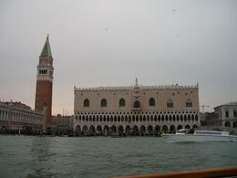 A view of one of Venice's highlights, from the boat! , Sylviane W - April 2014