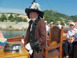 Captain on the pirate ship , MARY L - June 2011