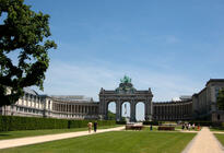 Photo of Brussels Cinquantenaire Park (Parc du Cinquantenaire)