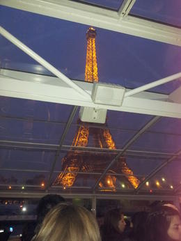 Photo of Paris Seine River Cruise, Paris Illuminations and Dinner on the Champs-Elysees De eifeltoren