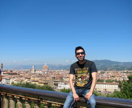 Picture of Florence ( and quot;Firenze and quot; in italian) taken from and quot;Piazzale Michelangelo and quot;. , Fernando - October 2013