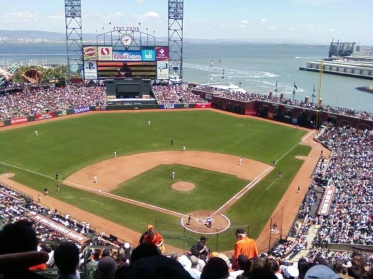 Giants game in May 2011 - San Francisco
