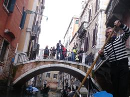 Gondola ride on the small canals of Venice, JOSE F - March 2009