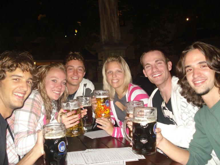 Great beer with great friends - Munich