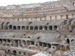 Photo of Rome Skip the Line: Ancient Rome and Colosseum Half-Day Walking Tour Inside the Colosseum Oct 2013