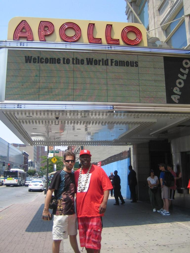 Me & Caz at The Apollo - New York City