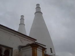 These are the two kitchen chimneys. , Robert M - October 2014