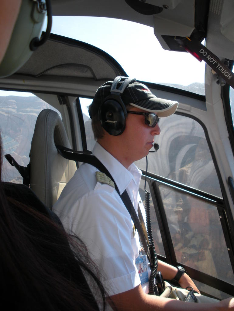 Our Helicopter Pilot - Las Vegas